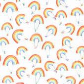 Rain or Shine - Rainbow Swing Multi Yardage