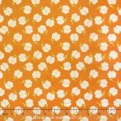 Primavera - Primavera Buds Tangerine Yardage