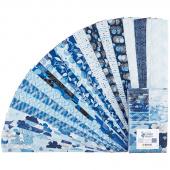 Blue Brilliance Favorites Pearlized Strip-pies