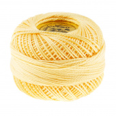 Perle Cotton Thread Size 8 Pale Yellow