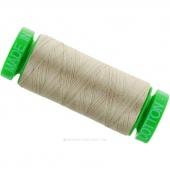 Aurifil 40 WT 100% Cotton Mako Spool Thread - Rope Beige