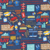 Cub Scouts - Cub Scouts Main Navy Yardage