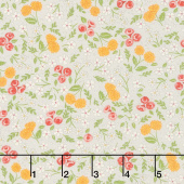 Cultivate Kindness - Flower Field Galvanized Grey Yardage