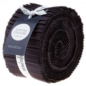 "Cotton Couture Charcoal 2.5"" Strips"