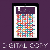Digital Download - Half-Hexi Links Quilt Pattern by Missouri Star