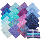 Tonga Treats Batiks - Colorwheel Plume Fat Quarter Bundle