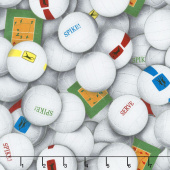 Sports - Volleyballs White Yardage