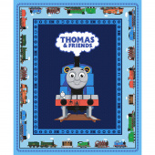All Aboard with Thomas & Friends - Thomas the Train Blue  Panel