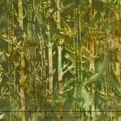 Artisan Batiks - Cornucopia 8 Tree Trunks Nature Yardage