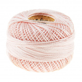 Perle Cotton Thread Size 8 Very Light Shell Pink