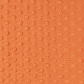 "Cuddle Embossed Dimple - Mandarin 60"" Minky Yardage"