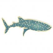 Whale Shark Pin