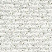 Homegrown Holidays - Holiday Handwriting Winter White Yardage
