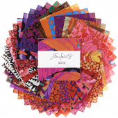 Kaffe Fassett Collective February 2021 Hot Charm Pack