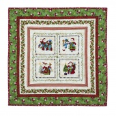 Just Be Claus It's Christmas Quilt Kit