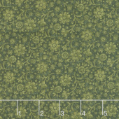 Plant Kindness - Calico Green Yardage