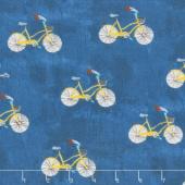 Wonder - Little Bikes Navy Yardage