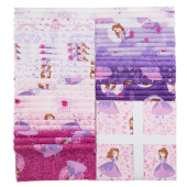 "Sofia the First 10"" Squares"