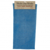 Weeks Dye Works Hand Over Dyed Wool Fat Quarter - Glen Plaid Electric Blue
