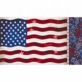 Patriots - American Flag Americana Panel
