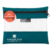 "Missouri Star SEEYOURSTUFF Bag 6"" x 8"" - Teal"