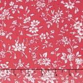 Simply Chic - Blossom Red Yardage