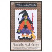 Wanda the Witch Gnome Precut Fused Appliqué Pack