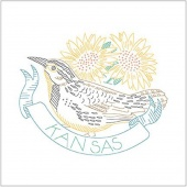 Birds of Liberty - Kansas Digitally Printed Panel