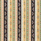 Bee Kind - Stripe Cream Multi Yardage