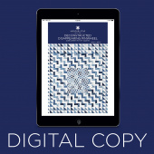 Digital Download - Deconstructed Disappearing Pinwheel Quilt Pattern by Missouri Star