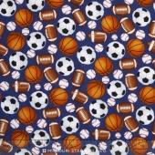 Sports - Sports Balls Navy Yardage