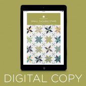 Digital Download - Small Dashing Stars Pattern by Missouri Star