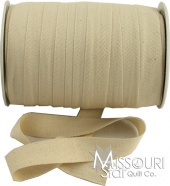 "1"" Cotton Twill Tape - Ivory"