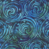 Artisan Batiks - Artful Earth Churn Ocean Yardage