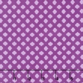 Girl Scouts - Girl Scout Trefoil Purple Yardage