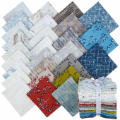 Winter Shimmer 2 Pearlized Fat Quarter Bundle