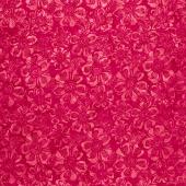 Poetic License Batiks - Large Floral Pomegranate Yardage