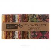 Tonga Treats Batiks - Vineyard Charm Pack