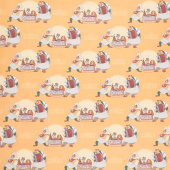 Disney Lady and the Tramp - Bella Notte Mustard Yardage