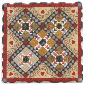 American Quilts Coaster - Flying Geese
