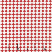 Sweet Harmony - Checks Red Yardage