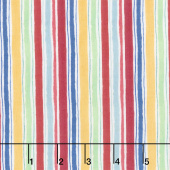 Garden Charm - Stripe Cream Yardage