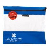 "Missouri Star's SEEYOURSTUFF Bag 10"" x 11"" - Royal"