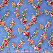 Juliette - Vine Blue Yardage