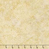 Ivy League Batiks - Flower Burst Tan Yardage