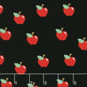 What do the Animals Say? - Apples Black Yardage