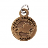 Pony Express Nevada State Collectible Charm