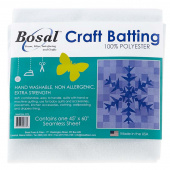 "Bosal Polyester Craft Batting- 45"" x 60"""