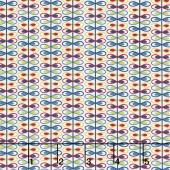 Mirage - Loop Stripe Whisper White Yardage