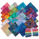 Artisan Batiks - Bright Blooms Fat Quarter Bundle